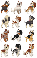 Natural puppy adopts[CLOSED] by SolitaryTans