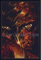 watermarked Anger Burns by ColourCascadeFabrics
