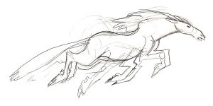 Sleipnir Sketch by killskerry
