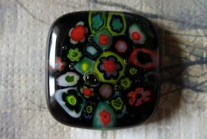 Fused Glass 4 by Radiatic