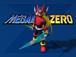 Zero 3D Model - Megaman Zero by genesys