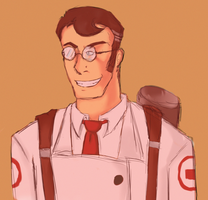 Herr Medic by Starry-Dawn