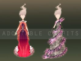(Closed) Dresses design adoptables - Auction 2 by fantazyme