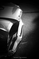 B/W Mustang Front by AmericanMuscle