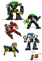 Invasion from Below: Mechs by Kalhiki