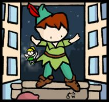 Peter Pan by cippow25
