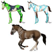 Tron Foals by RainbowFountains
