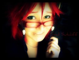 Casual Grell Day by ChocolateChaos