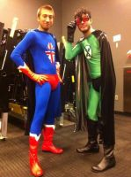 X-Ray and Vav by gavinfree