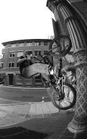 Fakie wall ride by Tezamistic