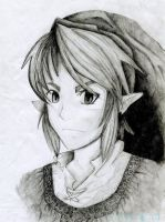 Link sketch complete and colored in! by miss-emu