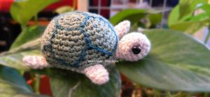 Little turtle amigurumi by GehadMekki