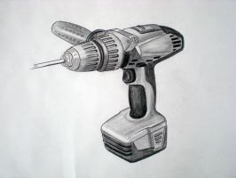 cordless screwdriver by tonyvercetty