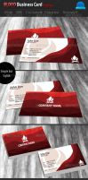 Blood Business Card Template by sktdesigns