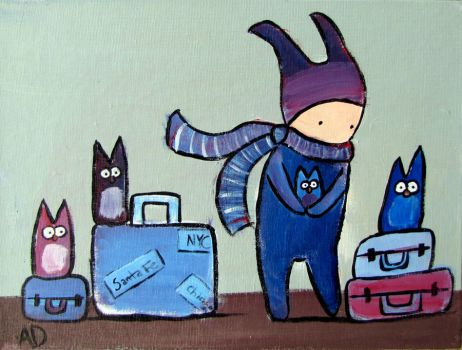 Traveling with Owls by andralynn
