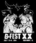 G-FEST 20th Anniversary by KaijuSamurai