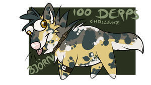 Introduction 100 Derps Challenge by SilenceMoonskin