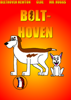 My BOLT-hoven Poster by Charleston-and-Itchy