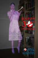 Happy Ghostbusters 30th Anniversary by thejoannamendez