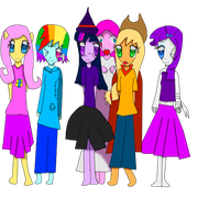 happy halloween 2013 from mlp by Lovehalo