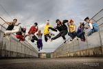 bboy jumps. by anysong