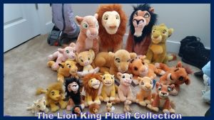The Lion King Plush Colleciton by Vesperwolfy87