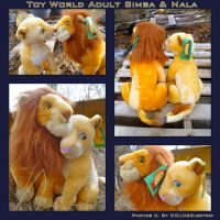 Toy World Adult Simba And Nala by DoloAndElectrik