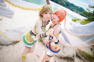 Love Live! - Arabian Hanayo x Rin by Xeno-Photography