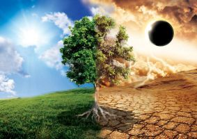 Good and Evil, Life and Death by kweku
