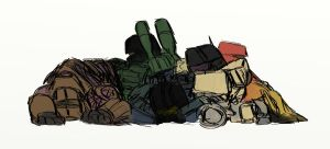Combaticons - snooze by rabbitzoro