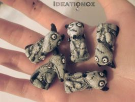 Frankenweenie (Sparky) Charms by Ideationox