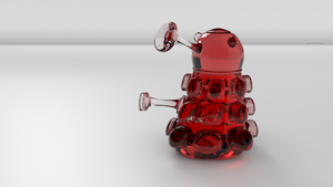 Glass Dalek by TheBigDaveC