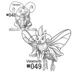 PKMN-A-DAY: Moths by the-b3ing