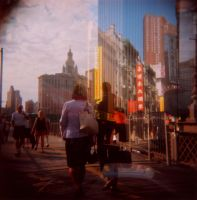 NY Holga by For-W-Art
