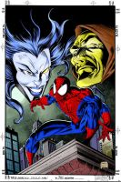 Amazing Spiderman 390 colored by RCarter
