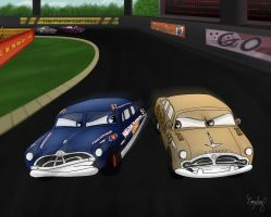 Hudson vs Packard by Comsing8