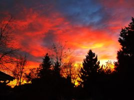 Beautiful October Sunset by Devan465