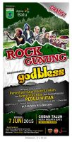 Billboard (5x10m) ROCK GUNUNG IJO by ignra