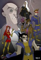 X Men by Bloodzilla-Billy
