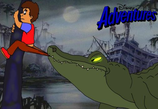 Disney Adventures: Gator problem in the bayou by Gloverboy23