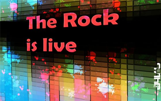 the rock is live by jyvel