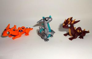 Yet More Baby Dragons by ByToothAndClaw