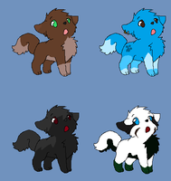 Wolf Puppy Adopts by zepIyn