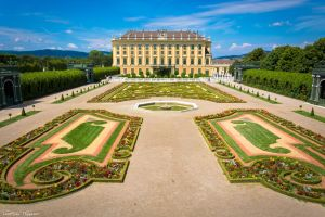 Wien - Schonbrunn Palace gardens by Dragon-Claw666