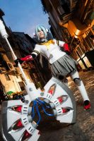 Labrys P4A Cosplay #1 by LittleLaki