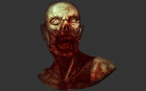 zombie sketch by victter-le-fou