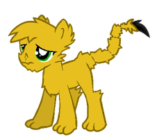 Ponified Scorpiodrake Runt by DraconianQueen