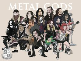 METAL GODS by Gengiskahn
