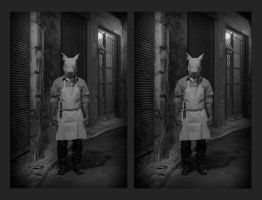 Pig Mask [stereo 3D] by akrialex