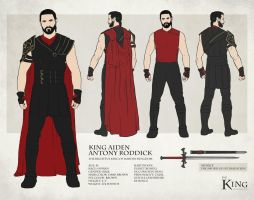 King Aiden - Character Sheet by Kc-Eazyworld